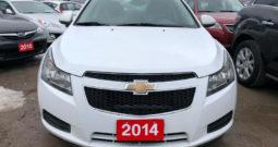 2014 Chevrolet Cruze/Certified/Sunroof/Bluetooth
