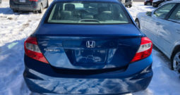 2012 Honda Civic/Certified/Sunroof/Heated Seats/Bluetooth/Alloys