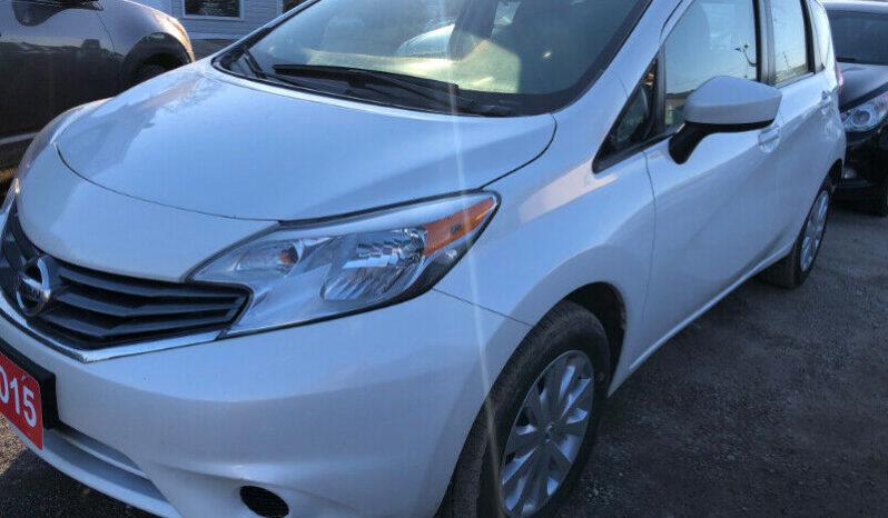 2015 Nissan versa/Certified full