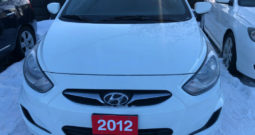 2012 Hyundai Accent/Certified/We Approve All Credit