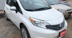 2014 Nissan Versa/Certified/Clean Carproof/We Approve All Credit