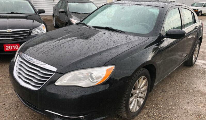 2012 Chrysler 200/Certified/Clean Car-proof/Alloy rims full