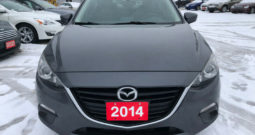 2014 Mazda 3  /Certified/4 Cylinder/  One Owner/Clean Car proof/DVD Backup Camera
